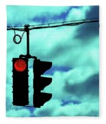 Red Light Fleece Blanket