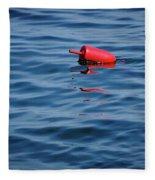 Red Lobster Buoy Fleece Blanket