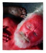 Red Man Fleece Blanket