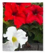 Red N White Fleece Blanket