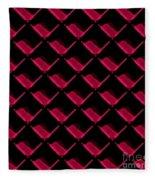 Red Ortho Fleece Blanket