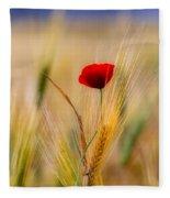 Red Passion Fleece Blanket