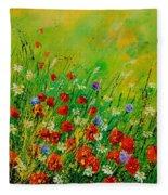 Red Poppies 450708 Fleece Blanket
