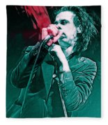 Red Right Hand, Nick Cave Fleece Blanket