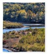 Red River Bend Fleece Blanket