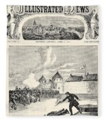 Red River Rebellion, 1870 Fleece Blanket