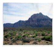 Red Rock Canyon 3 Fleece Blanket