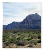 Red Rock Canyon 3 Fleece Blanket