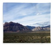 Red Rock Canyon 4 Fleece Blanket