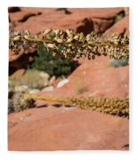 Red Rock Canyon Nv 11 Fleece Blanket