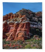 Red Rocks Of Sedona Fleece Blanket