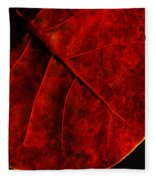 Red Sea Grape Fleece Blanket