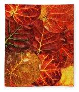 Red Sea Grapes By Sharon Cummings Fleece Blanket