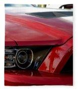 Red Shelby Fleece Blanket