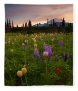 Red Sky Meadow Fleece Blanket