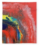 Red Sky Fleece Blanket