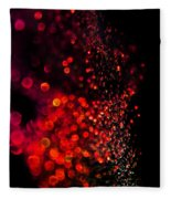 Red Spell Fleece Blanket