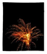 Red Splash Fleece Blanket