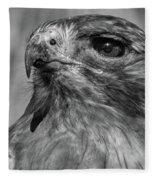 Red-tailed Hawk 2 Fleece Blanket