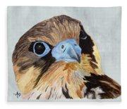 Red-tailed Hawk Portrait Fleece Blanket
