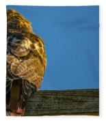 Red Tailed Hawk  IIi  Fleece Blanket