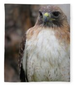Red-tailed Hawks Fleece Blanket