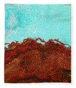 Red Tide Fleece Blanket