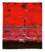 Red Velvet Fleece Blanket