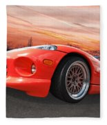 Red Viper Rt10 Fleece Blanket