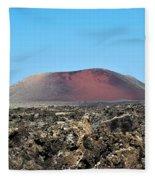 Red Volcano Fleece Blanket