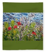 Red-weed - All Fleece Blanket