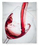 Red Wine Fleece Blanket
