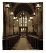 Redemption - Church Of Heavenly Rest #3 Fleece Blanket