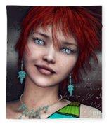 Redhead Fleece Blanket