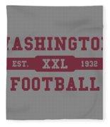 Redskins Retro Shirt Fleece Blanket