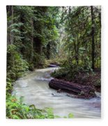 Redwood Stream Fleece Blanket