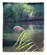 Reed Fleece Blanket