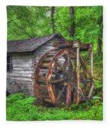 Reed Springs Grist Mill Fleece Blanket