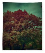 Reed Tree Fleece Blanket