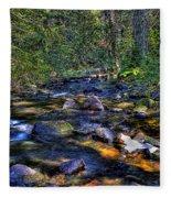 Reeder Creek II Fleece Blanket