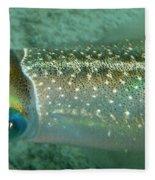 Reef Squid Fleece Blanket