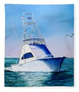 Reel Lady Fleece Blanket