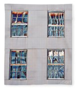 Reflecting Artwork Fleece Blanket