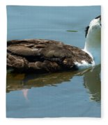 Reflecting Duck Fleece Blanket