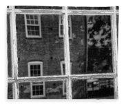 Reflecting History Fleece Blanket
