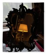 Reflecting On Lamps And Dreams  Fleece Blanket