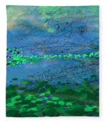 Reflecting Pond Fleece Blanket
