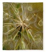 Reflecting The Golden Sunshine Of Love Fleece Blanket