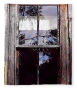 Reflection - In - The - Window  Fleece Blanket