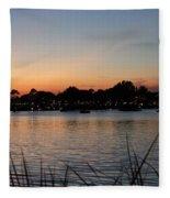 Reflection Lagoon Fleece Blanket